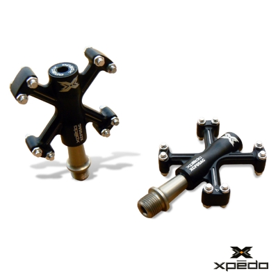 XPEDO XCF 05 輕量化鋁合金腳踏 黑