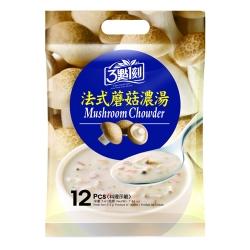 3點1刻 法式磨菇濃湯(18gx12包)