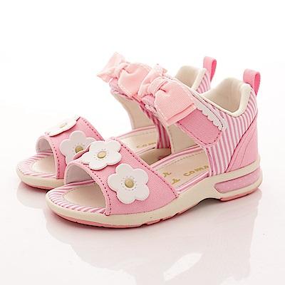 日本Carrot機能童鞋 高支撐涼鞋 TO1814 粉紅 (中小童段)T1