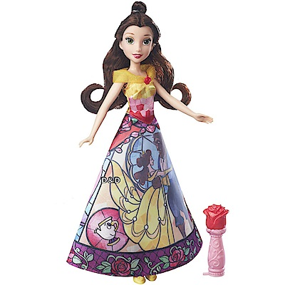 迪士尼公主系列 - 貝兒公主故事裙裝遊戲組