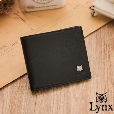 Lynx - 山貓極品爵士軟式牛皮8卡1照零錢包短夾