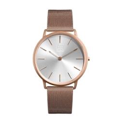 ZOOM 極簡超薄米蘭腕錶-玫瑰金 /42mm