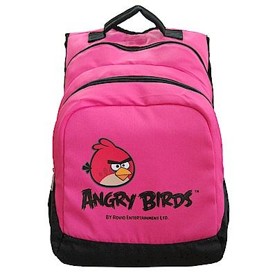 Angry Birds 憤怒鳥雙層多功能後背包(桃粉)
