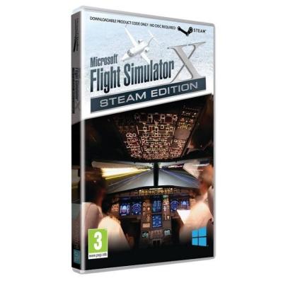 Microsoft Flight Simulator X:Steam Ed 模擬飛行X