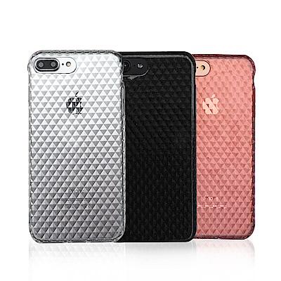 innerexile iPhone 8/7gem閃鑽亮粉鑽石紋手機保護殼