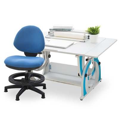 時尚屋 奧利弗兒童伸縮成長書桌椅組可選色/免運費/台灣製
