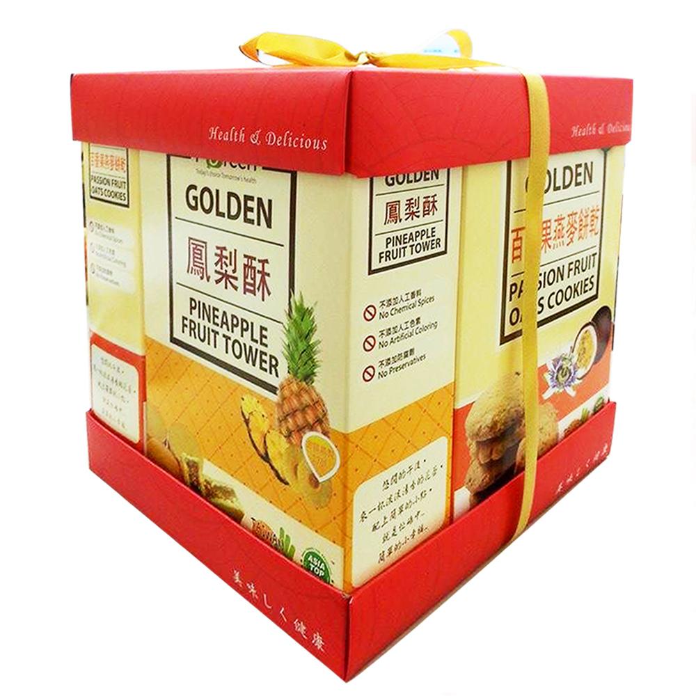 美好人生Beautiful Life 手工水果酥禮盒2組(160g/盒)