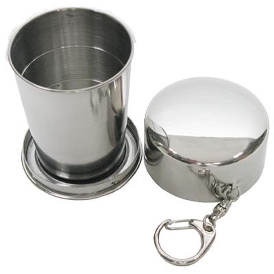 攜帶式150cc不鏽鋼杯環保杯伸縮杯