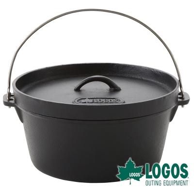 【日本LOGOS】SL豪快魔法調理荷蘭鍋12吋(附袋)-81062232