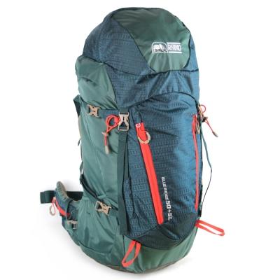 犀牛Blue Ridge 50+5公升背包-暗綠