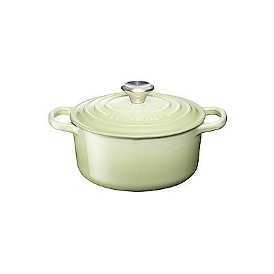LE-CREUSET-琺瑯鑄鐵圓鍋-16cm