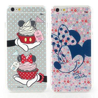 Disney iphone 6 plus / 6s plus 彩繪鄉村風透明保護...