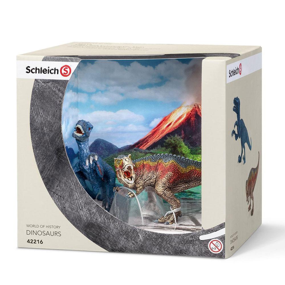 Schleich 史萊奇禮盒 - 霸王龍&迅猛龍