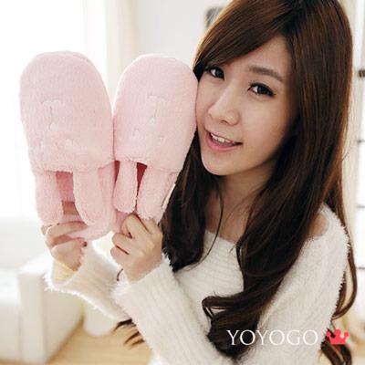 YOYOGO  CRAFTHOLIC 梅子和果子兔室內拖鞋