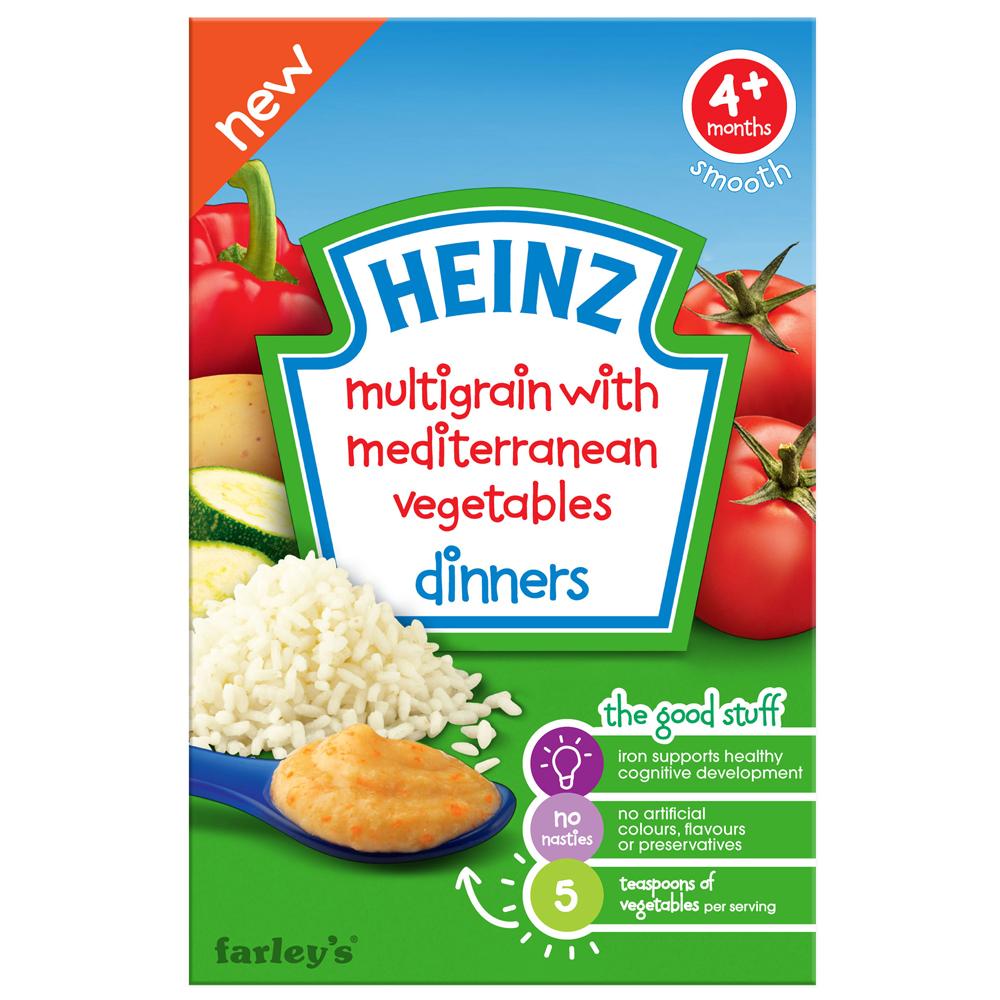 亨氏 地中海蔬菜米麥精(125g)
