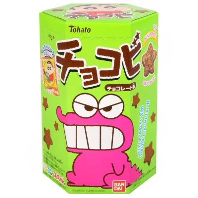 Tohato東鳩蠟筆小新巧克力餅-附貼紙25g