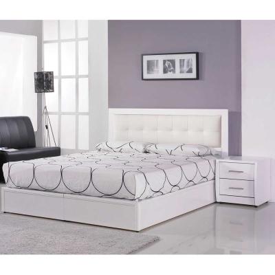 群居空間 米希亞6尺雙人加大三件房間組/二色(床頭片+床底+床頭櫃)(不含床墊)