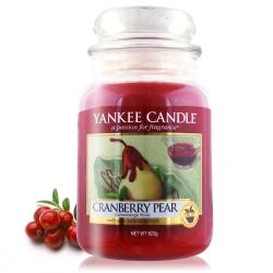 YANKEE CANDLE 香氛蠟燭-蔓越梨623g