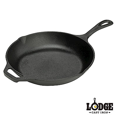 Lodge 鑄鐵主廚弧形平煎鍋10吋/25公分