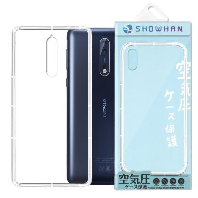 【SHOWHAN】 Nokia 8 (5.5吋) 空壓手機殼