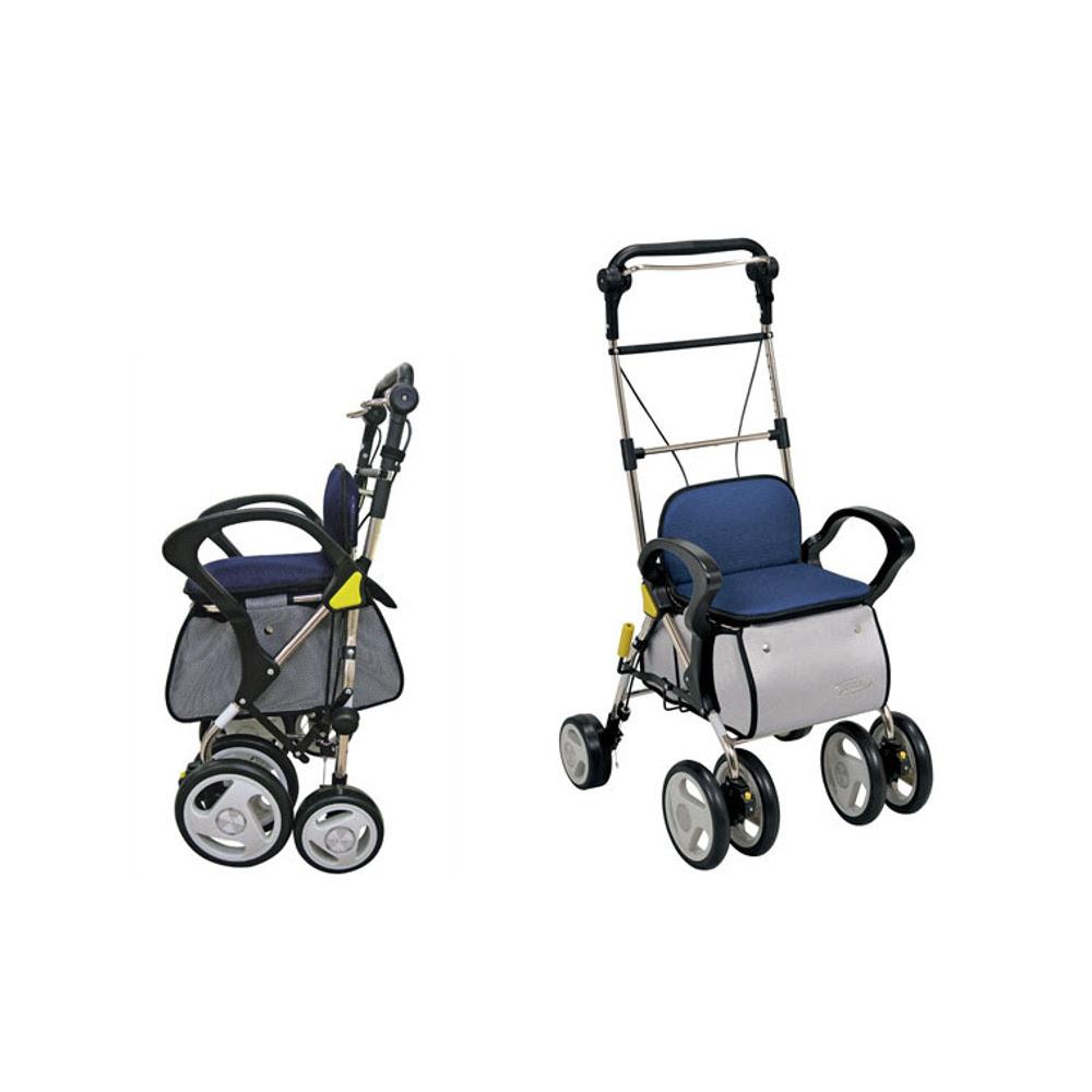 Tacaof幸和 購物散步車ST003-L(深藍)