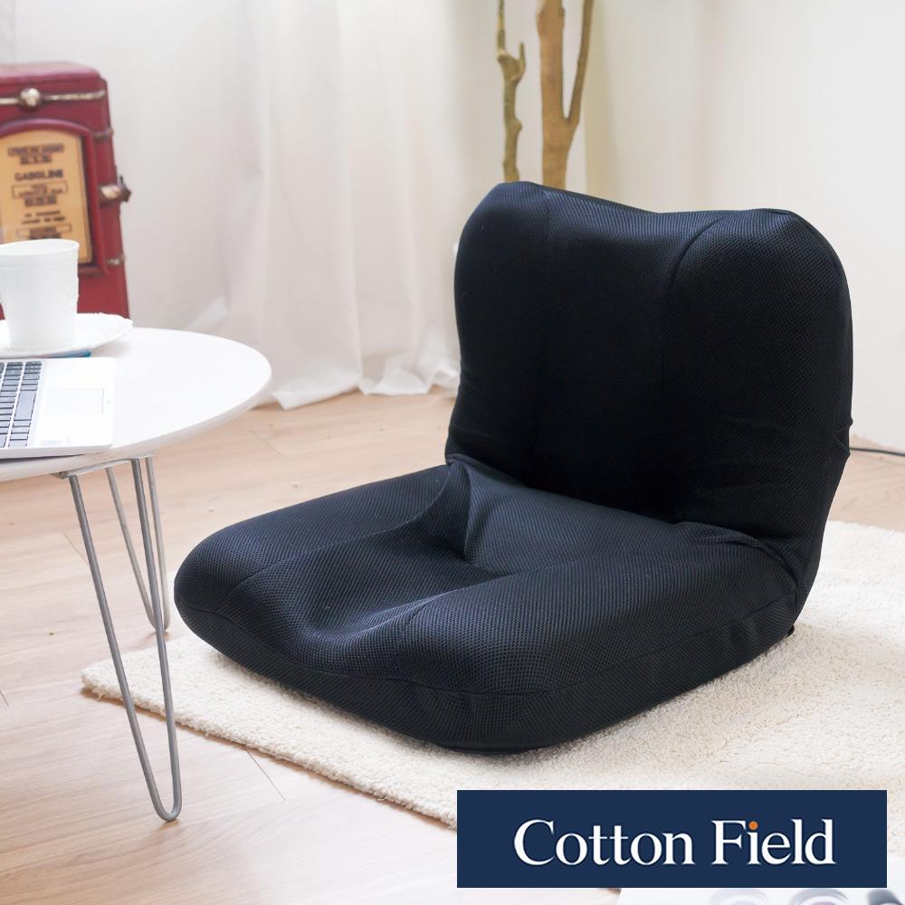 棉花田 紐約 折疊和室椅-黑色