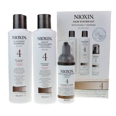 NIOXIN 耐奧森(儷康絲) 4號豐髮體驗組 公司貨