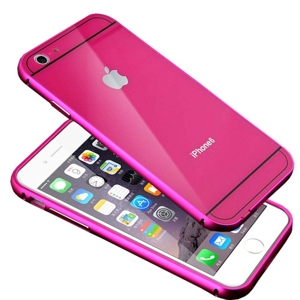 Ginmic iphone 6 Plus 5.5金屬邊框帶後蓋殼 全包邊保護套