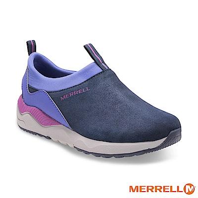 MERRELL 1SIX8 MOC 休閒童鞋-藍(55624)