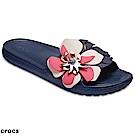 Crocs 卡駱馳 (女鞋) 思瓏花朵涼拖 205257-410