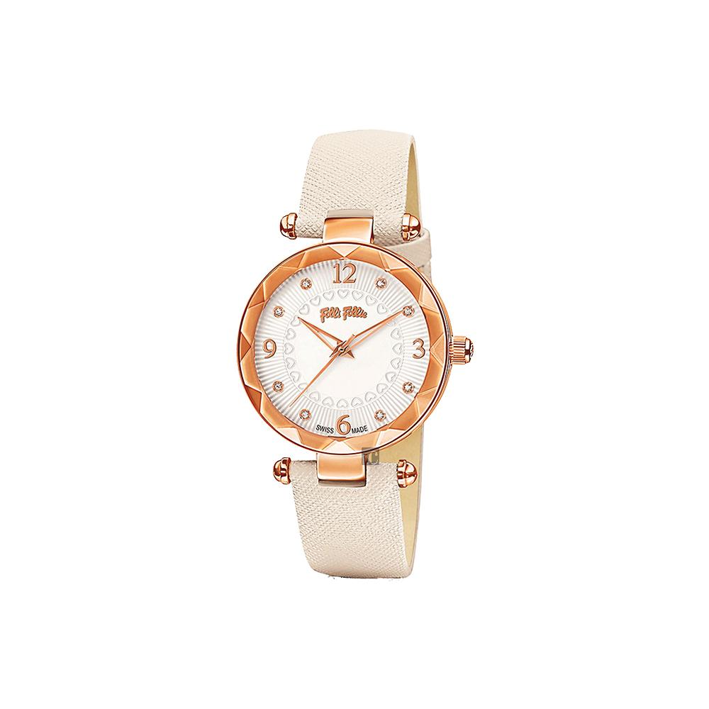 Folli Follie CLASSY ELEMENT 摩登時尚晶鑽石英女錶
