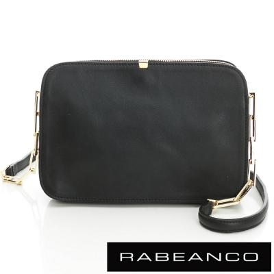 RABEANCO-LUXURY極致奢華系列鍊帶包-黑