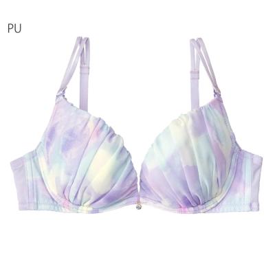 aimerfeel 熱情活力雪紡內衣-紫色