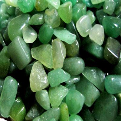 【原藝坊】天然綠東菱玉水晶碎石(粗)_1000公克
