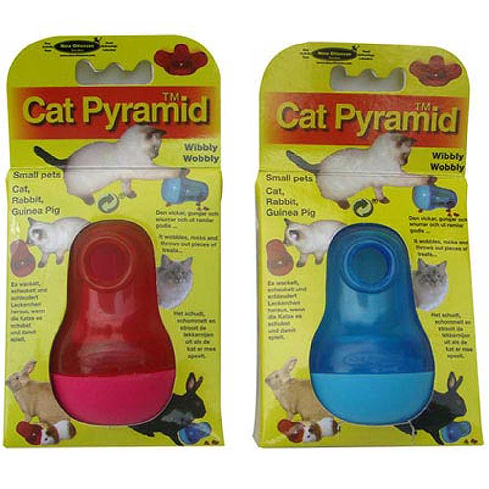 瑞典Nina Ottosson 狗狗益智玩具-CatPyramid貓貓不倒翁、兩色可選