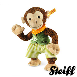 STEIFF德國金耳釦泰迪熊 - Jocco Monkey 猴子 (嬰幼兒玩偶)