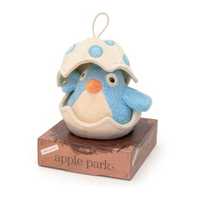 美國-Apple-Park-有機棉音樂拉鈴-青鳥寶寶