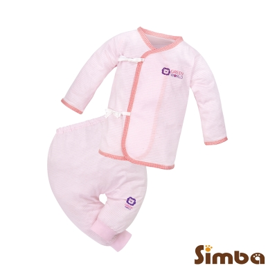 小獅王辛巴-元氣綿柔反袖肚衣套裝-50cm
