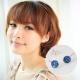 維克維娜-璀璨時刻-海洋水藍寶石-925純銀耳環