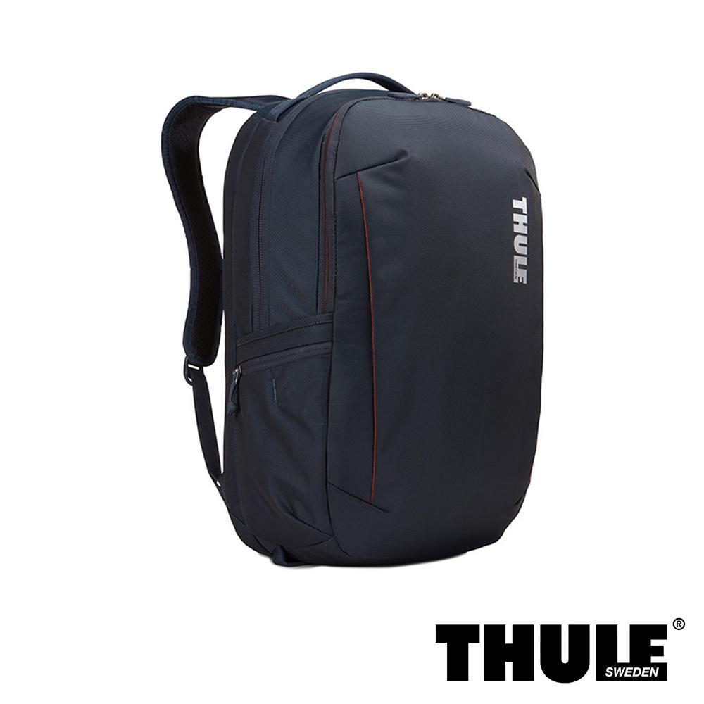 Thule Subterra 雙層電腦後背包(礦藍色/15.6 吋筆電適用)