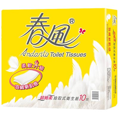 春風超細柔抽取式衛生紙110抽x70包