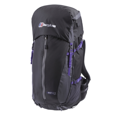 【Berghaus貝豪斯】BIOFLEXL女用登山背包50L T27F01-灰