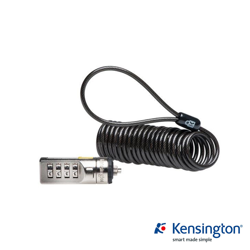 Kensington Portable Combination 行動型鋼纜密碼電腦鎖