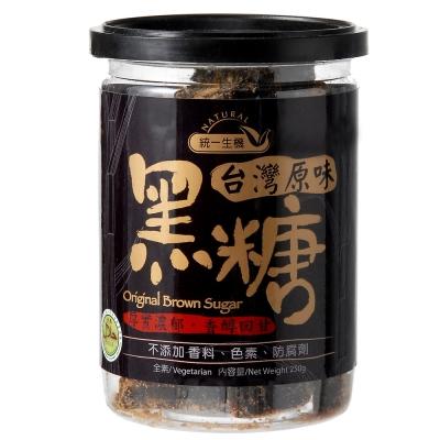 統一生機 台灣原味黑糖(250g)