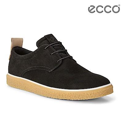 ECCO CREPETRAY MENS 男 蜜糖牛奶休閒鞋-黑