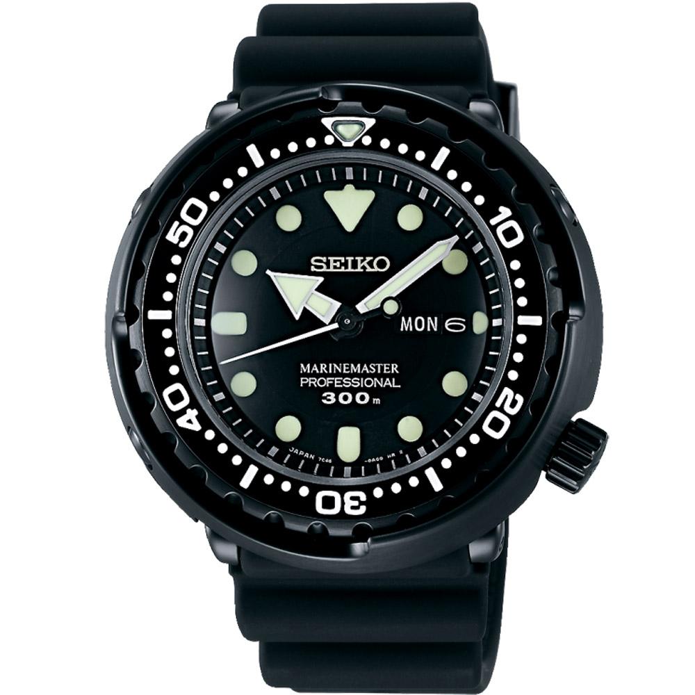 SEIKO PROSPEX極限運動潛水錶(SBBN035J)-黑/48mm