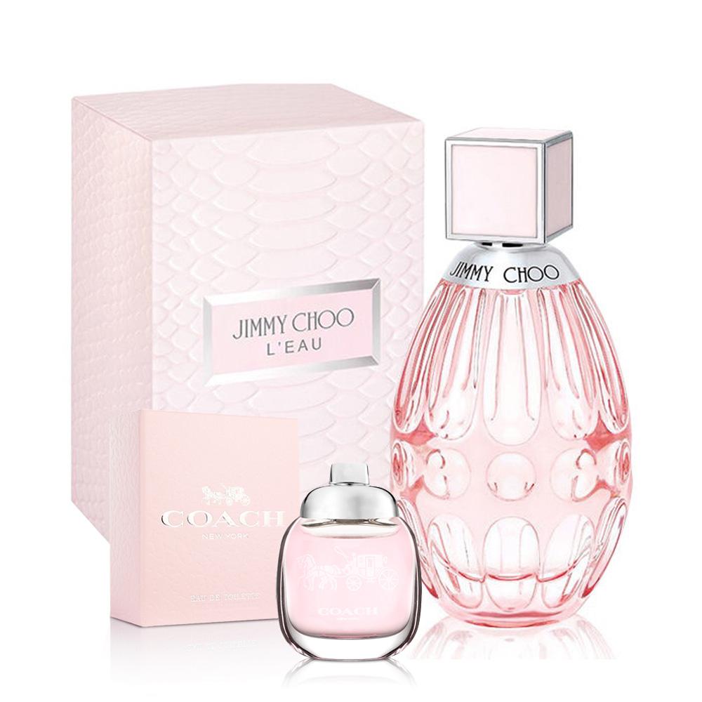JIMMY CHOO戀曲女性淡香水90ml(贈品)品牌小香4.5ml
