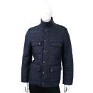 BURBERRY 菱形絎縫鋪棉戰地夾克(海軍藍)
