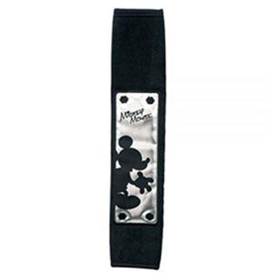 NAPOLEX 迪士尼米奇安全帶護套 (黑銀)