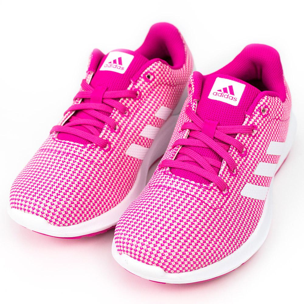 ADIDAS-COSMIC女慢跑鞋-粉紅